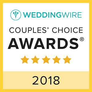 WeddingWire Couple's Choice Award 2018